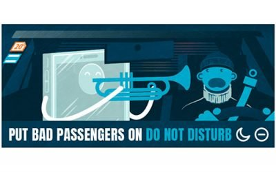 Put Bad Passengers on Do Not Disturb